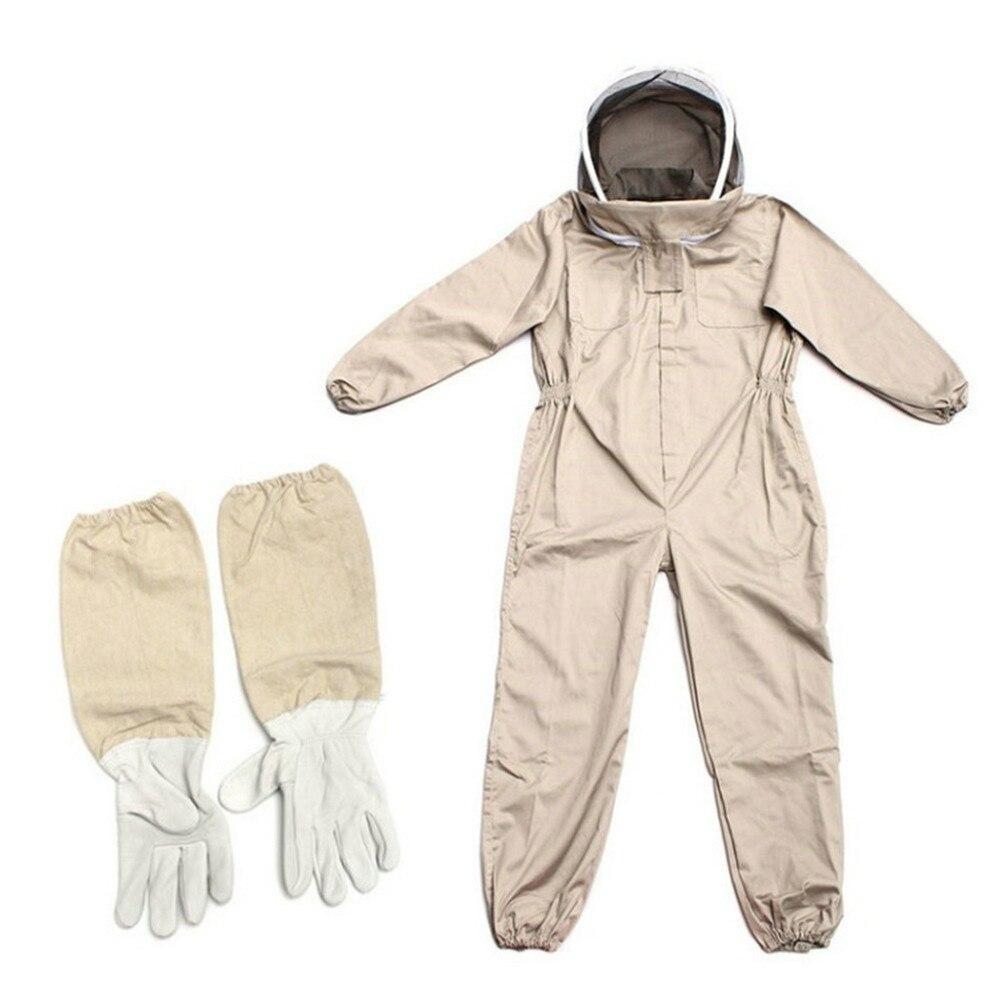 1 шт., одежда для пчеловодства, профессиональная одежда для пчеловодства, костюм для пчеловодства, капюшон, шляпа, одежда, перчатки, костюм дл...