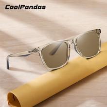 2021 New Top Brand Square Sun Glasses Polarized Sunglasses Men Women Retro Brown Blue Ocean Lens Ocu