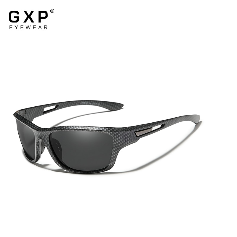 GXP Ultralight Frame Polarized Sunglasses Men Fashion New Sports Style Square Sun Glasses Male Outdo