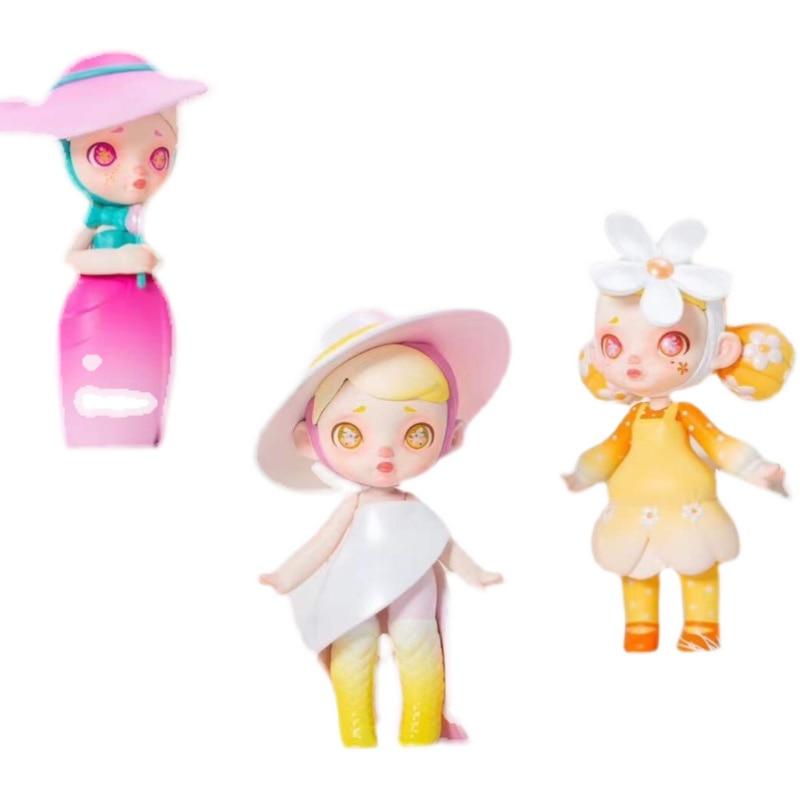 Blind Box 13 Style Anime Figure Adorable Laura Fashion Second Series Kawaii Toys Surprise Random Garage Kit Doll Gift 12Pcs/set
