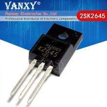 10 stücke 2SK2645 TO-220F K2645 ZU-220 600V 9A 1,2 TO220F MOSFET N-Kanal transistor