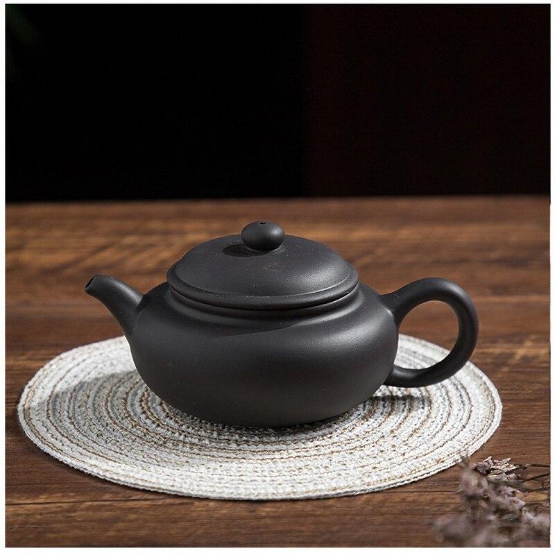 أطقم شاي صيني الكونغ فو براد شاي درينكوير تيتيرا إبريق الشاي 230 مللي طقم شاي يمكن الوقوف رأسا على عقب وقطع الماء 1 قطعة