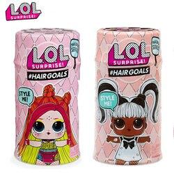 Оригинальные куклы LOL SURPIRSE, 5 поколение, цели для волос, сделай сам, игрушки для девочек, рождественский подарок
