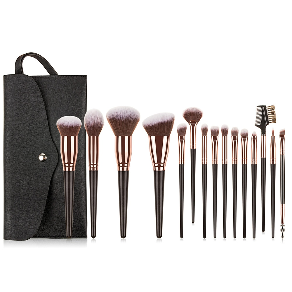 7/10/15pcs/set High quality Makeup Brushes Eye Shadow Eyebrow Eyeliner Lip Foundation Powder  Profesional Makeup Brushe tools