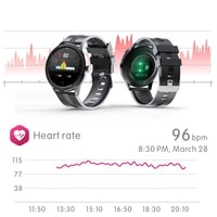 men women smart watch real time weather forecast activity tracker heart rate monitor sports ladies smart watch for android ios