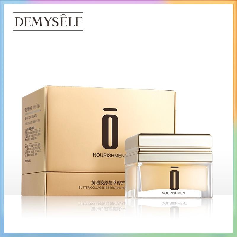 Фото - Demyself Butter Collagen Repair Cream 50g Whitening Face Cream Anti Wrinkle Day night Moisturizer Cream Skin Care Shrink pores too faced butter cream