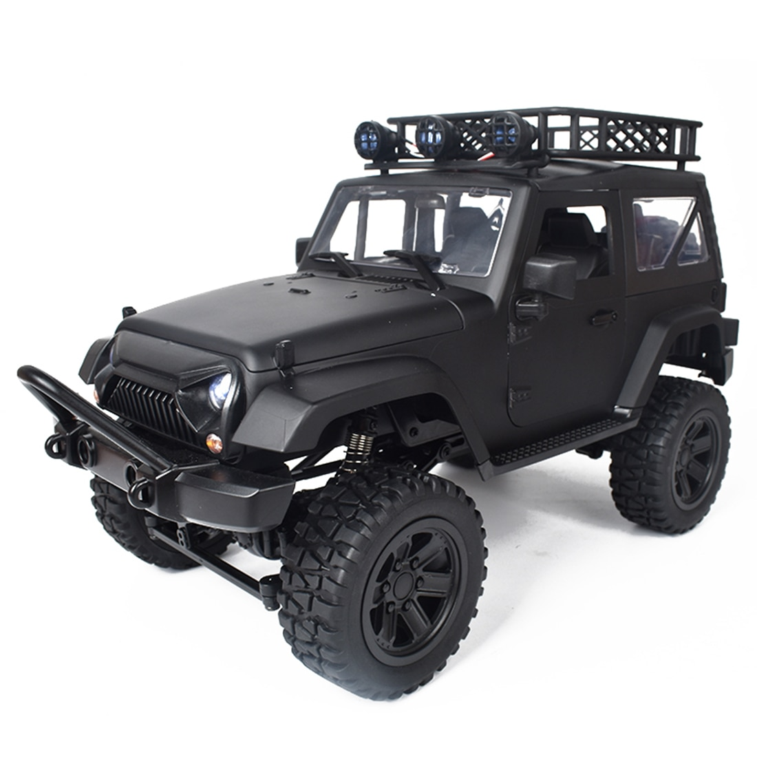 1:14 2.4G 4WD 20KM/H Full Scale Climbing Car Remote Control Off-road Vehicle with LED Lights enlarge