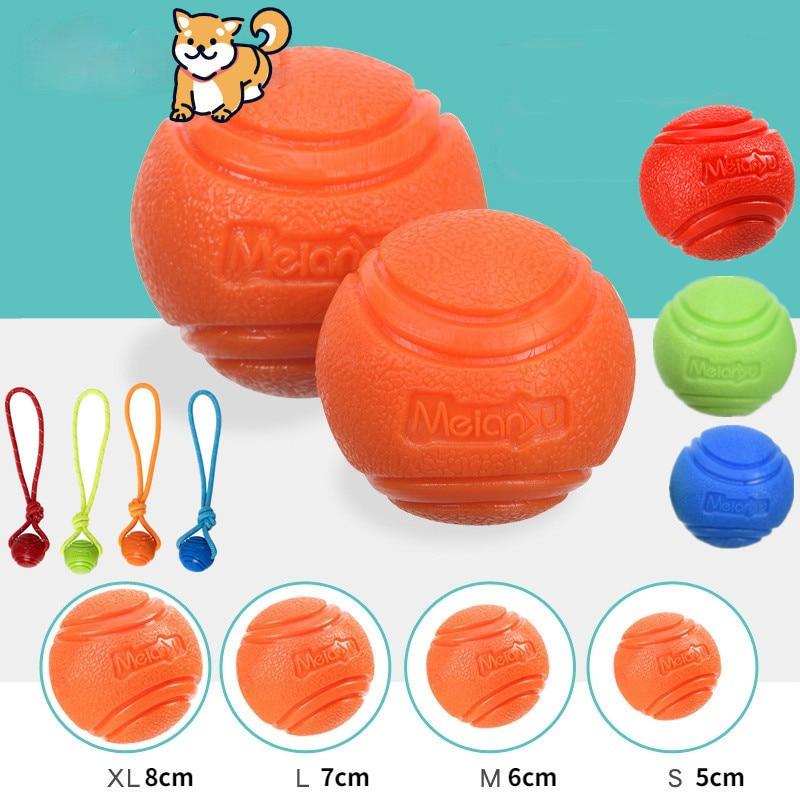 Игрушки для собак, мяч для собак, надувной резиновый твердый мяч для собак, жевательные игрушки для собак, для бросания и выздоровления на от...