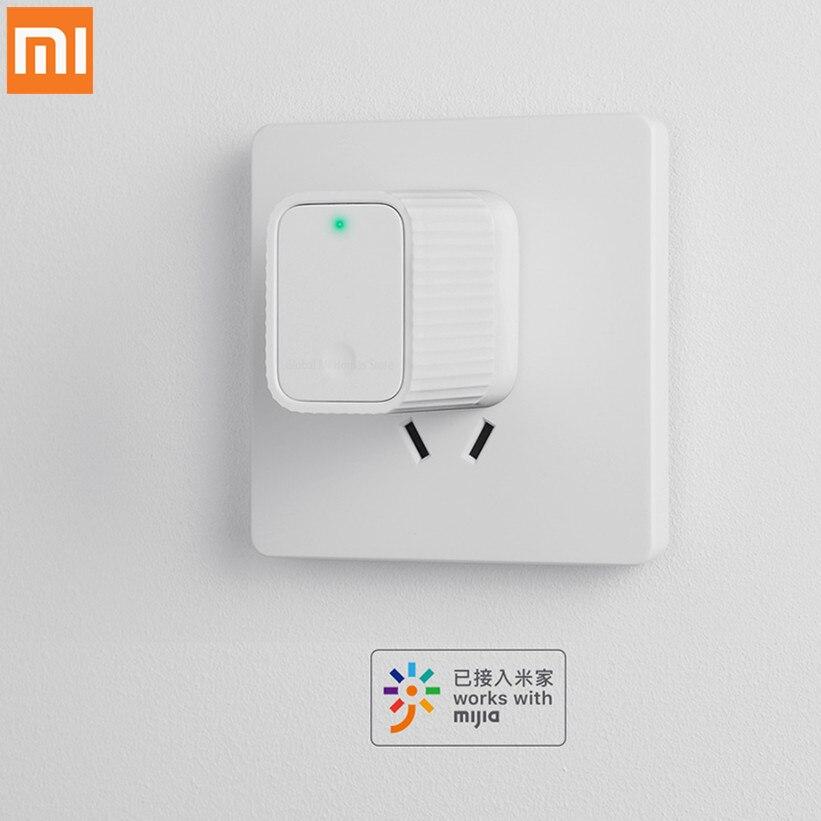 Original Xiaomi Smart Cleargrass Bluetooth/Wifi Gateway Hub funciona con Mijia Bluetooth subdispositivo para dispositivo doméstico inteligente