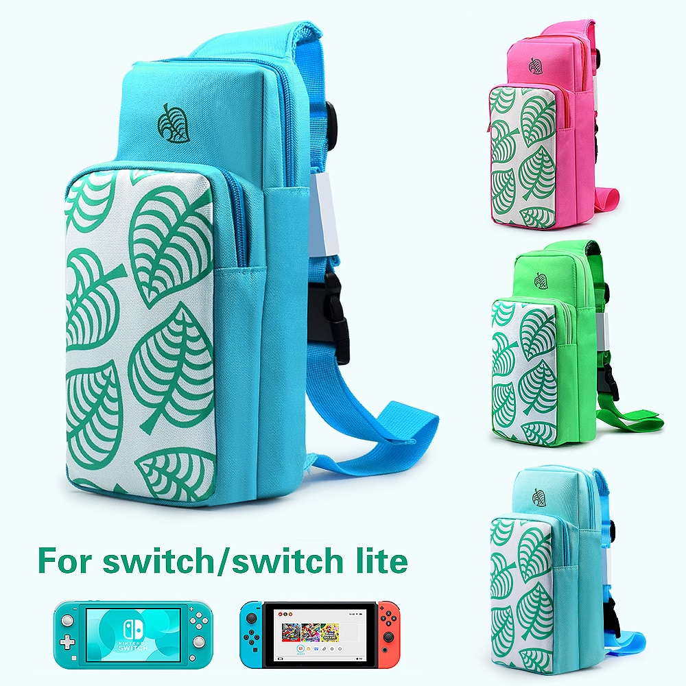 Chest Bag for Nintendo Switch Case Shoulder Bag Cross Body Portable Protective Storage Bag for Joy-Con Console Game Accessories