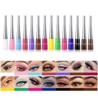 color eyeliner kit 14 colorspack liquid colorful eye liner pencil set makeup cosmetics long lasting