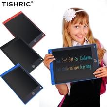 """TISHRIC 12 """"인치 LCD 드로잉 테이블 어린이를위한 보드 컬러 스크린 디지털 그래픽 태블릿 그리기 패드 어린이 선물 완구"""
