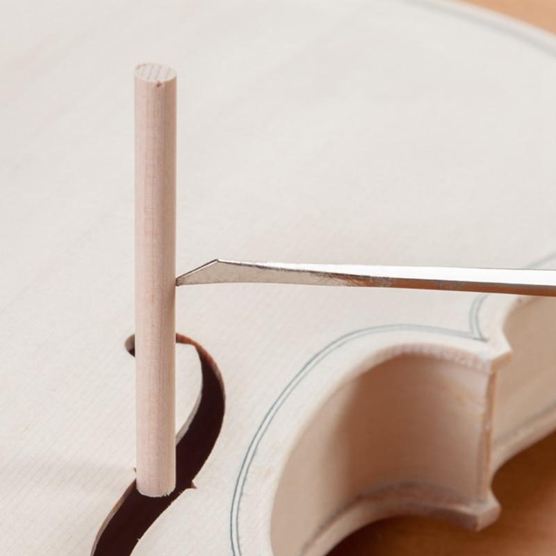 Violin Luthier Tools Sound Post Gauge Measurer Retriever Clip Set Violin Parts & Accessories Silvery enlarge
