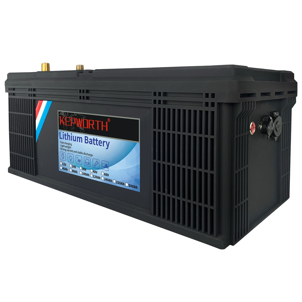 24V Lithium Iron Phosphate Battery 24V 100Ah Built-in BMS LFP LiFePO4 Battery For RV Wind Solar Energy Scooter Tricycle Boat
