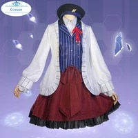 anime a traveler in time and space heroine cosplay costume lolita dress uniform halloween party outfit for women girls 2020 new