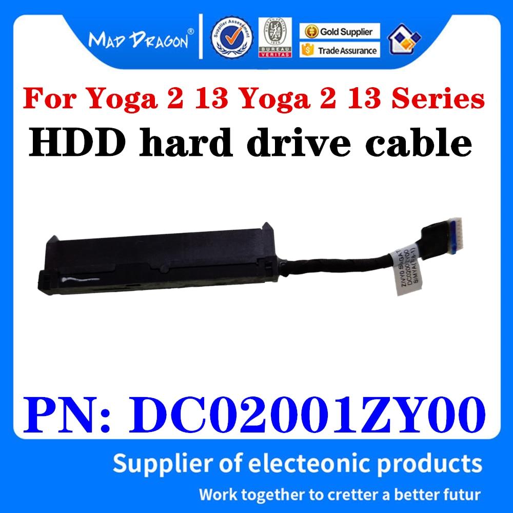 Novo original portátil sata ssd hdd disco rígido cabo conector do cabo para lenovo ideapad yoga 2 13 yoga 2 13 séries dc02001zy00