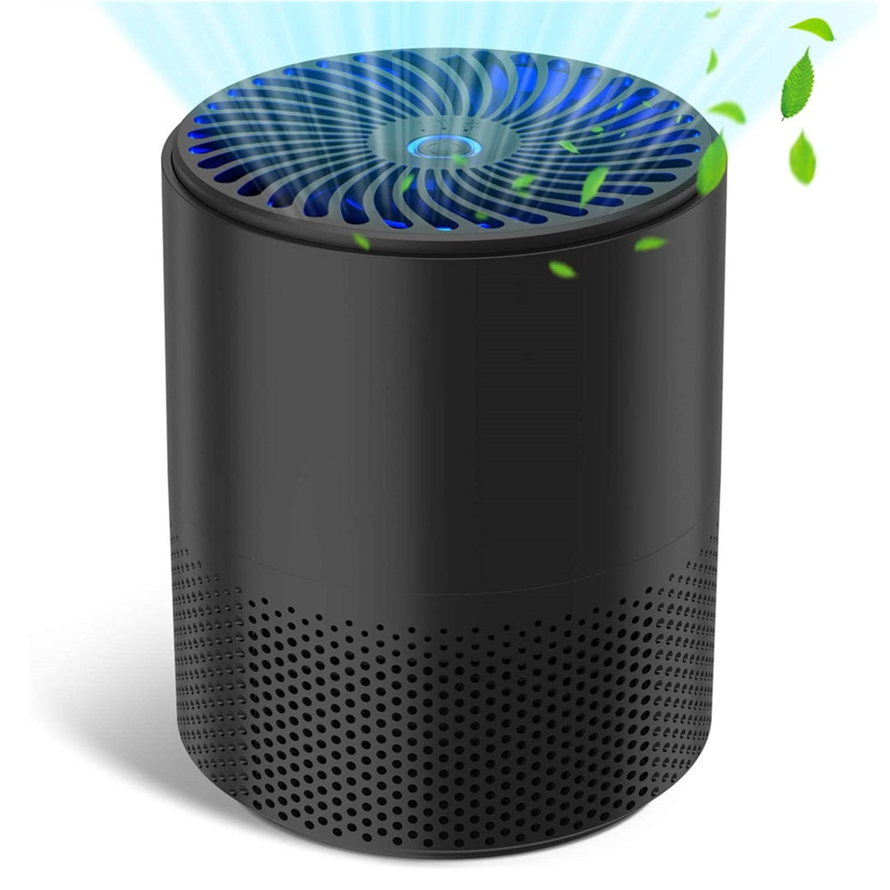 A16 Air Purifier H13 True HEPA Filter Anion Disinfection Formaldehyde Removal Smoke Air Cleaner  for 215ft² Large Room Household mexi air purifier hepa filter cartridge carbon fiber formaldehyde removal for original xiaomi oled display smart air purifier 2s