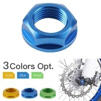 motorcycle front left right axle shaft lock nut for yamaha yz250 450f 2014 2020 yz250 450fx 2016 2017 2018 2019 2020 2021