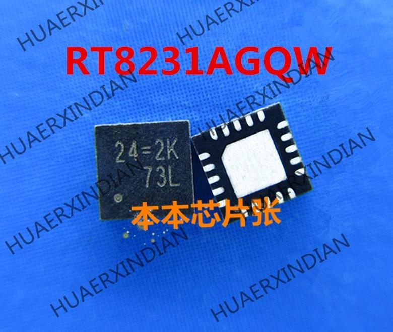 New RT8231AGQW RT8231A print 24=2K 24= QFN high quality