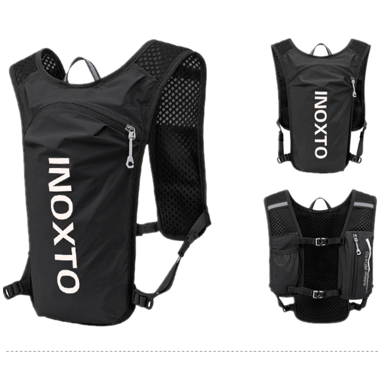 INOXTO водонепроницаемый рюкзак для бега 5л ультра-светильник жилет гидратация для горного велосипеда кожаная сумка дышащая спортивная сумка ...