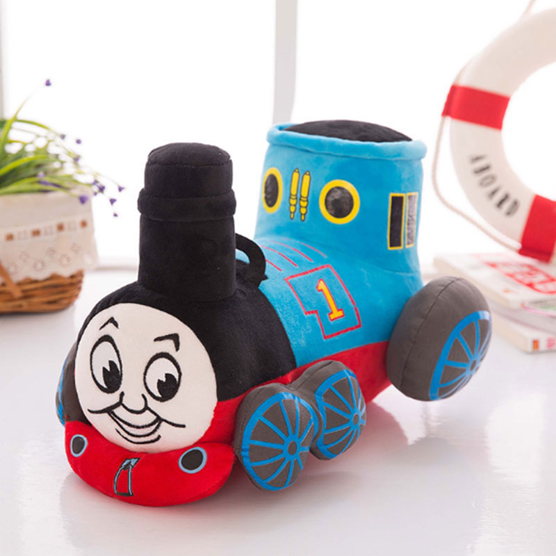 25/30/35cm Thomas And Friends Train Plush Toy for Kids Boy Thomas Train Soft Stuffed Toys Dolls for Children Gift
