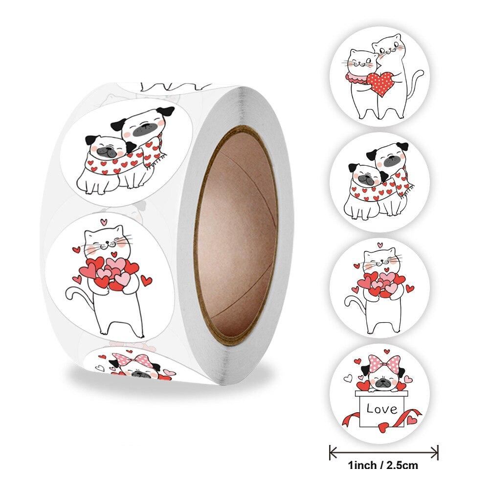 pegatinas-de-dibujos-animados-de-amor-de-gato-para-ninos-pegatinas-de-recompensa-de-1-pulgada-decoracion-para-fiesta-del-dia-de-san-valentin-50-500-uds