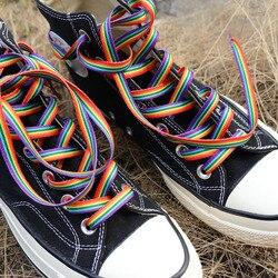Радужные шнурки