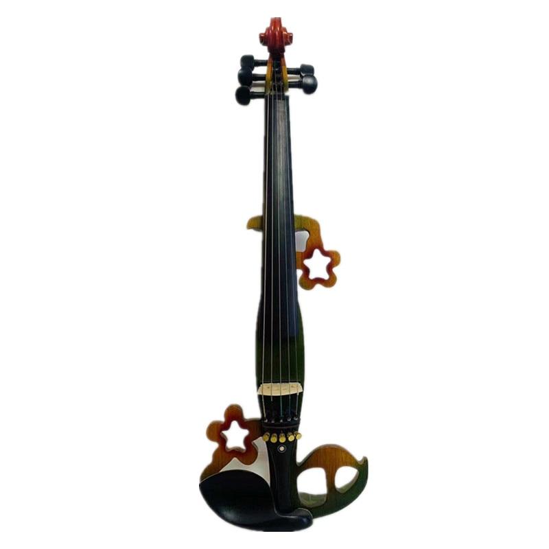 SONG Brand design streamline good sound 5 strings 4/4 electric violin 7277AAA enlarge
