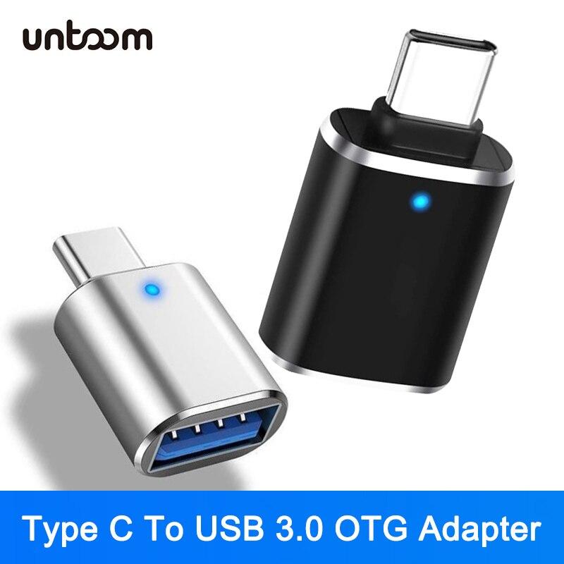 USB C adaptador de OTG tipo C para USB 3,0 Adaptador tipo-C...