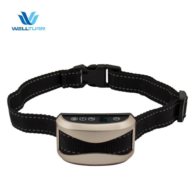 Dog Collar Dog Barking Electric Shock Collar Automatic Anti Disturbing Pet Training Device Pet Supplies Barking Arresting Device