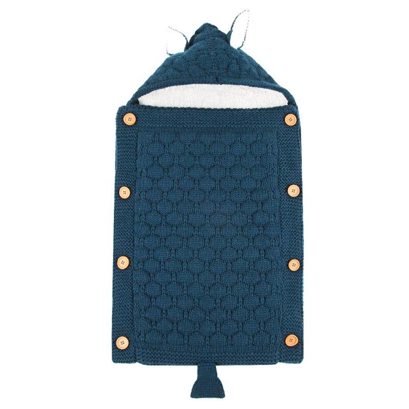 Baby Swaddle Blanket Newborn Soft Sleep Sack Winter Warm Sleeping Bag Lint Swaddling Bag Bedding Infant Envelope Wrap Swaddling