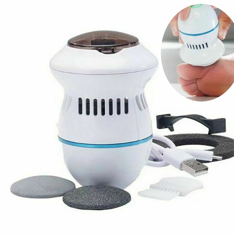 New Arrivals Pedi Vac Remover Rechargeable Electronic Foot Files Pedicure Tools Pedi Feet Care Perfe