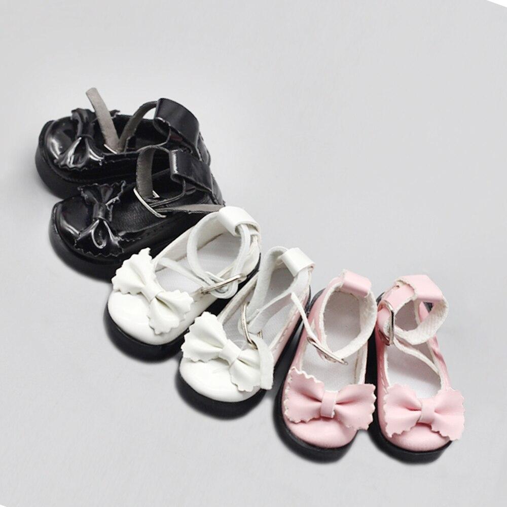 1 par de zapatos de muñeca 1/4 BJD para Little 16 pulgadas Sharon, accesorios de vestimenta para muñecas, juguetes de 6,3x2,5 cm