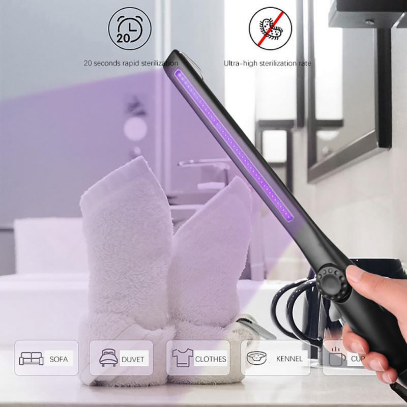 USB portátil de luz Uv Esterilizador UVC lámpara Uv esterilizadora palo lámpara...