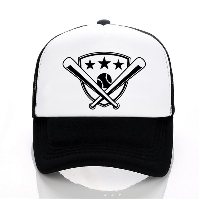 Summer Mesh Cartoon Baseball Cap Women Men Adjustable Caps Unisex Hip-Hop Fashion Outdoor Cool Snapback Hats gorras hombre недорого