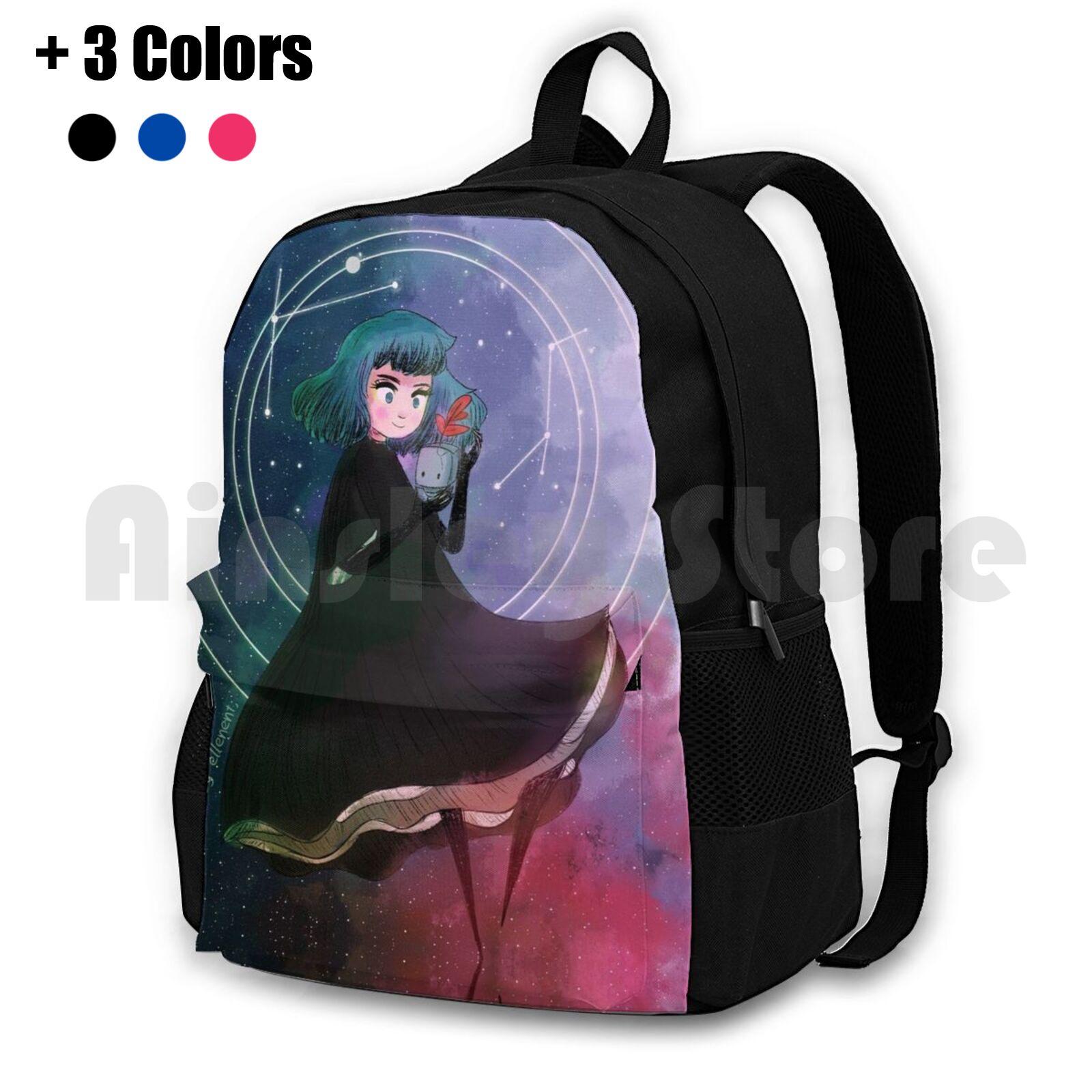 Gris-mochila de senderismo al aire libre para niñas, bolsa de viaje para...