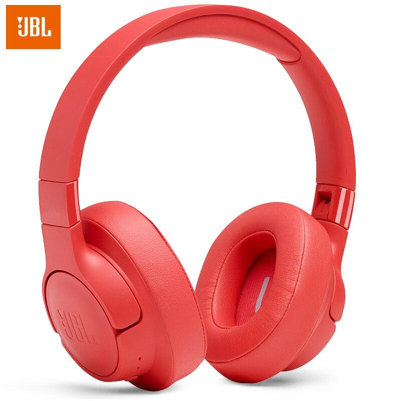 JBL الأصلي لحن 700BT سماعة رأس بخاصية البلوتوث سماعة لاسلكية تعمل بالبلوتوث سماعة رأس بخاصية البلوتوث سماعة رياضية سماعة الموسيقى T700BT