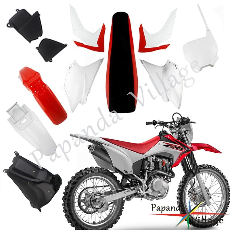 Motorcycle Body Plastic Cover Side Fairing Fender Fuel Tank Seat Kit For Honda CRF230F CRF 230F 2015-2019 Dirt Bike Motocross