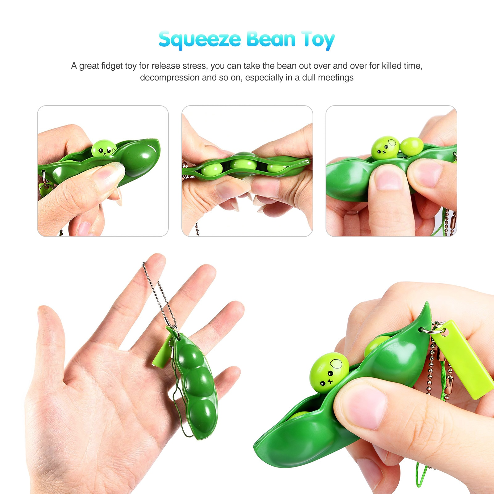 26PCS Fidget Toys Decompression Toy Squeeze Bubble Sensory Toy Stress Relief Hand Toys Suitable For Children With Autism enlarge