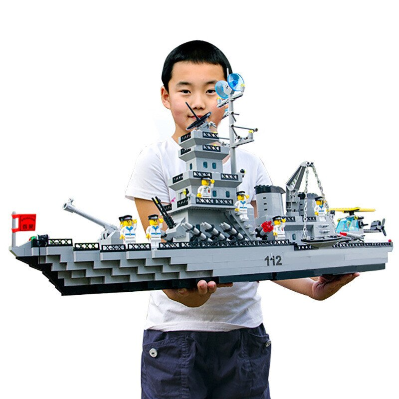 2020 Hot Building Blocks Boys Blocks Toys Battleship Warship Black Pearl Pirate Ship Construction Bricks With Figures Gifts