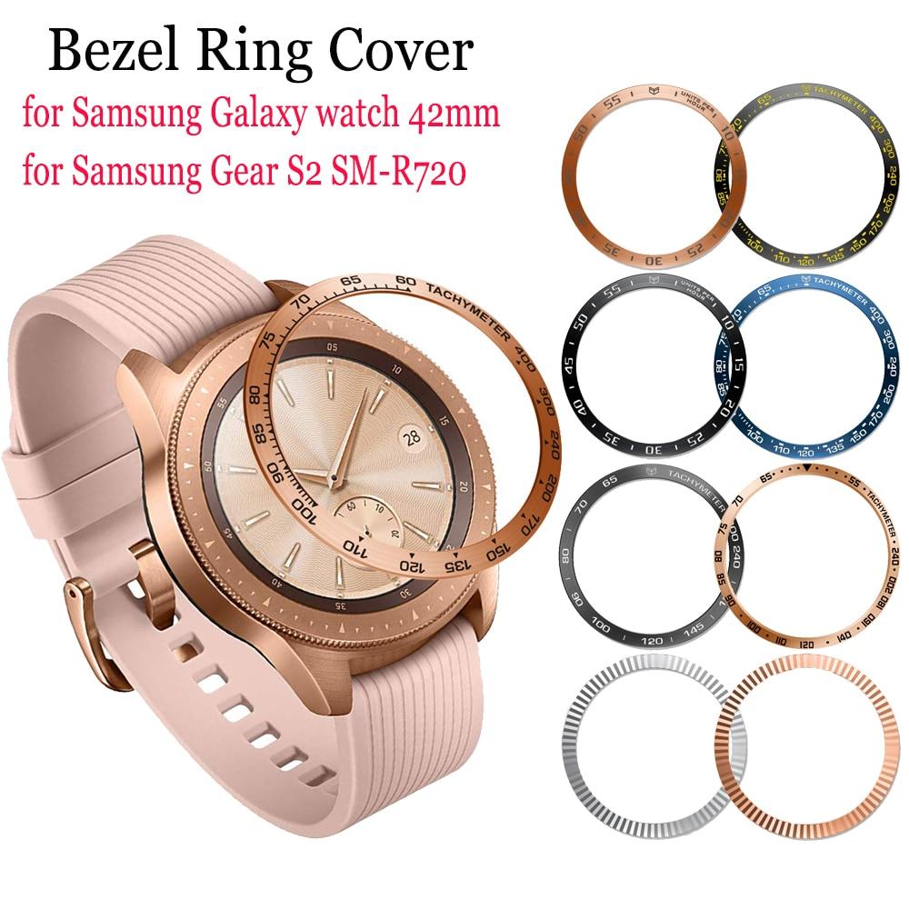 Funda de anillo con bisel de Metal para Samsung Galaxy Watch, carcasa...