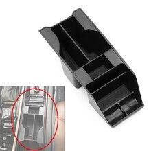 Interior Accessories Central Armrest Storage Box ABS Tidy Organizer Black For VOLVO 2016-2019 XC90 S90 V90 V90CC 2018 2019 XC60