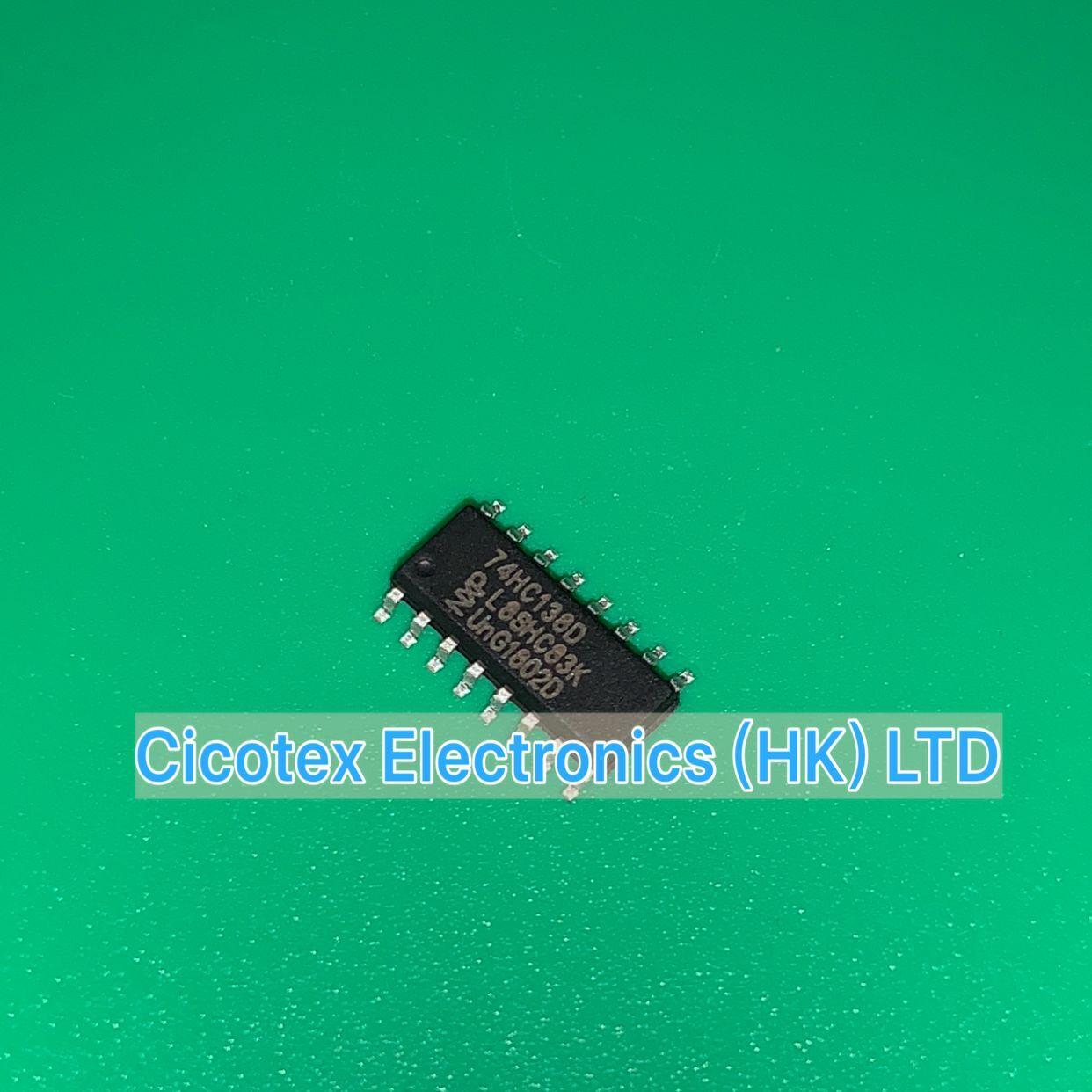 10 pçs/lote 74HC138D SOP16 74 HC138 D IC DECODER/DEMUX 3-LINHA 8 16 SN74HC138DR 8SOIC