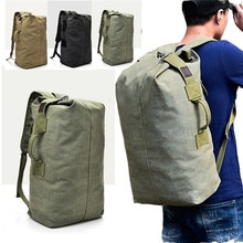 2021 New Large Capacity Rucksack Man Travel Bag Mountaineering Backpack Male Luggage Canvas Bucket S