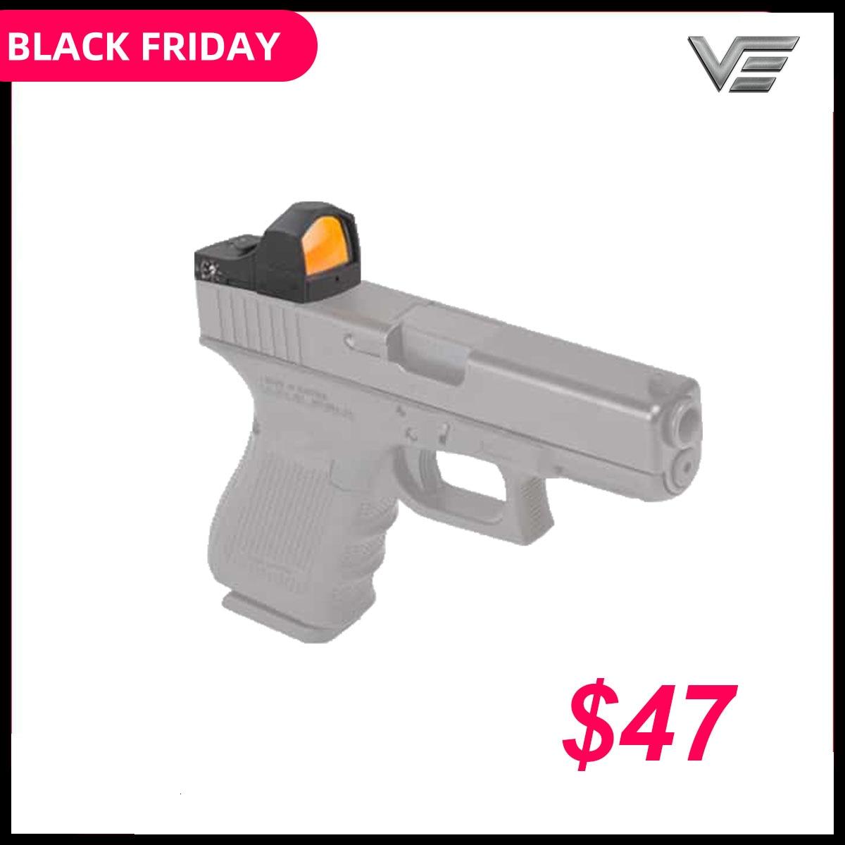 Vector Optics Sphinx 1x22 Auto Brightness Compact Red Dot Sight Doctor 3 MOA 9mm Pistol 12ga Shotgun Reflex Sight