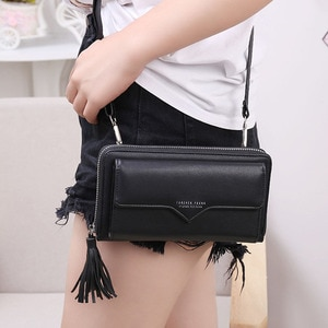 Leather Fashion PU Bags New Women Large Capacity High Quality Tassel Women Wallet Small Incense Wind Chain Lozenge Shoulder Bag