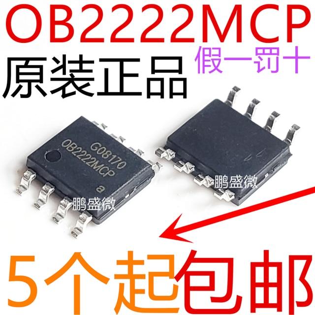 5pcs/lot OB2222MCP  SOP-8 0B2222MCP In Stock