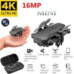 Melhor mini drone com 4 k câmera hd, drones dobráveis, um-chave retorno, fpv, quadcopter siga-me rc helicóptero brinquedos da criança quadrocopter