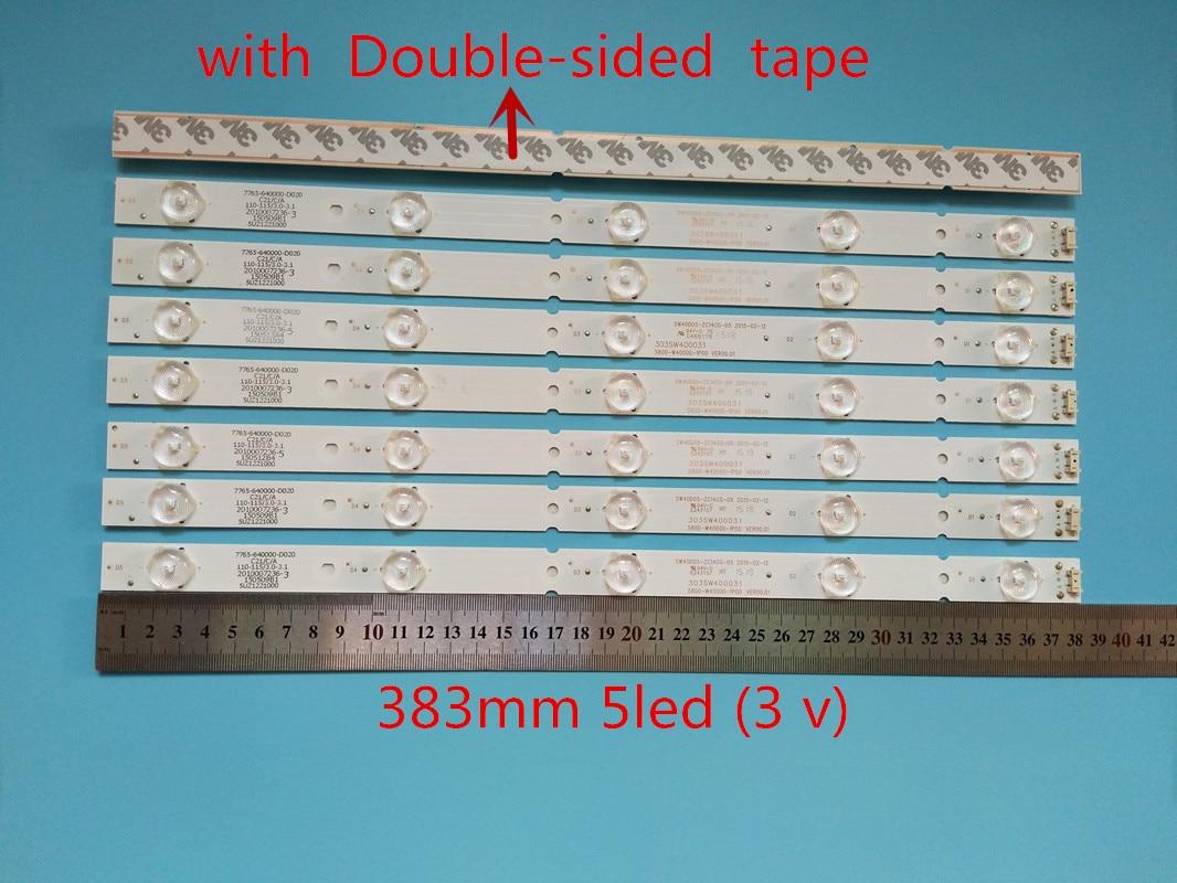 إزالة LED Retroilumination مصباح ل 40E6000 5 40E3000 40E3500 40E3500 5800-W40000-3P00 2P00 1P00 VER0.0