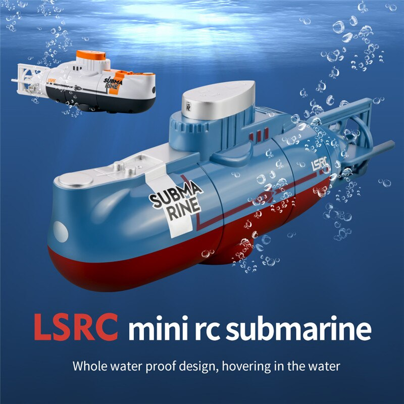 Mini RC Submarine 6CH Speed Radio Remote Control Submarine Electric Mini RC Submarine Kids Children